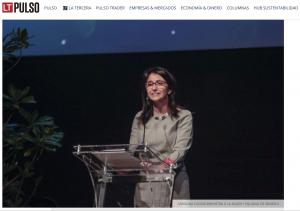 """""""Gobierno lanza plataforma que crea el Registro de Mujeres para Directorios"""", Economía y Dinero, Pulso, diario La Tercera, 9/10/19"""