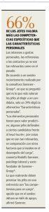 """""""66% de los jefes valora más las competencias específicas, que las características personales"""", Economía y Negocios, el Mercurio, domingo 7/05/17."""