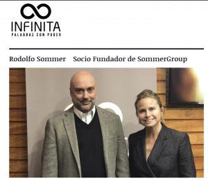 Hablamos del impacto digital en el mercado laboral, entrevista de Soledad Onetto a Rodolfo Sommer, programa Déjate Caer, Radio Infinita, 24/9/18