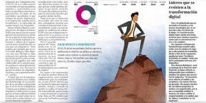 """""""Líderes que se resisten a la transformación digital"""", Capital Humano, diario el Mercurio, 11/03/19"""