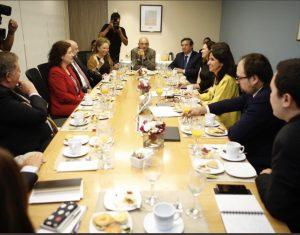 """""""Ministerio de la Mujer y participación femenina en directorios: Si necesitamos poner una cuota sería porque fracasamos"""", Diario Financiero, 17/01/19"""
