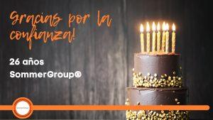 SommerGroup® celebra 26 años